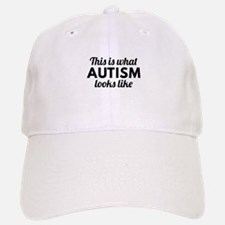 Autism Looks Like Baseball Baseball Cap