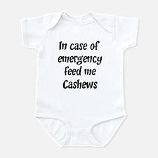 Feed me Cashews Infant Bodysuit