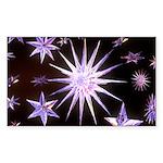 Sparkling Stars Sticker (Rectangle 50 pk)
