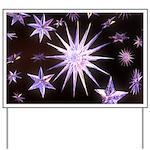 Sparkling Stars Yard Sign