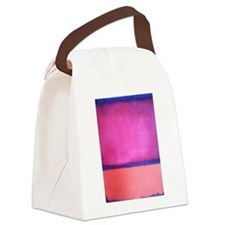 ROTHKO PINK BLUE PEACH Canvas Lunch Bag