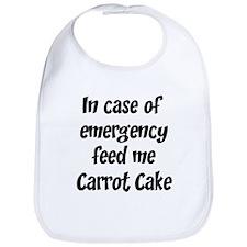 Feed me Carrot Cake Bib