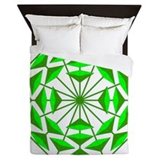 Eclectic Flower 367A Queen Duvet