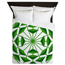 Eclectic Flower 369A Queen Duvet