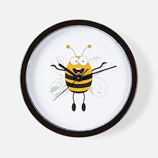 Flying Bee Wall Clock