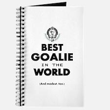 The Best in the World Best Goalie Journal