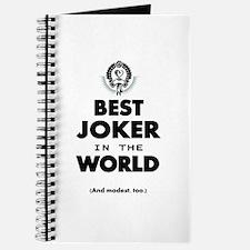 The Best in the World Best Joker Journal