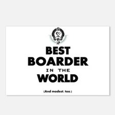 The Best in the World Best Boarder Postcards (Pack