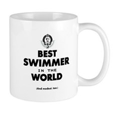 The Best in the World Best Swimmer Mugs
