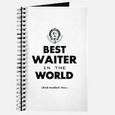 The Best in the World Best Waiter Journal