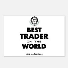 The Best in the World Best Trader Postcards (Packa