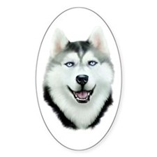 Siberian Husky Decal