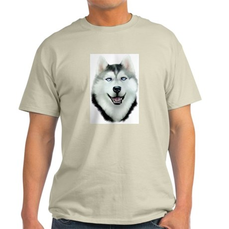 Siberian Husky Light T-Shirt