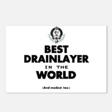 The Best in the World Best Drainlayer Postcards (P