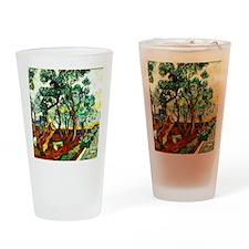 Van Gogh - The Garden of St. Paul's Drinking Glass
