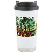 Van Gogh - The Garden o Travel Mug