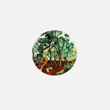 Van Gogh - The Garden of St. Paul's Ho Mini Button