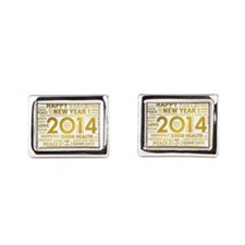 new year images Cufflinks