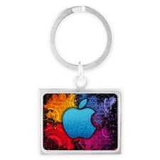 Apple Landscape Keychain