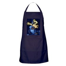 The Guitar Player abstract design Apron (dark)