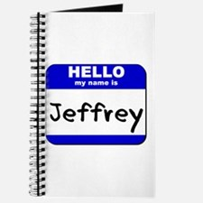 hello my name is jeffrey Journal