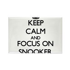 Keep calm and focus on Snooker Magnets