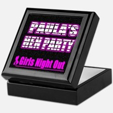 Paulas Hen Party Keepsake Box