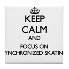 Keep calm and focus on Synchronized Skating Tile C