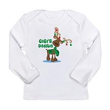 Gigi's Deerie Long Sleeve Infant T-Shirt