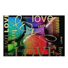 Love All Over Postcards (Package of 8)