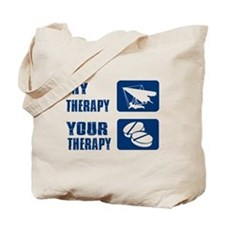hang glide is my Therapy Tote Bag