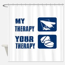 hang glide is my Therapy Shower Curtain