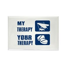 hang glide is my Therapy Rectangle Magnet