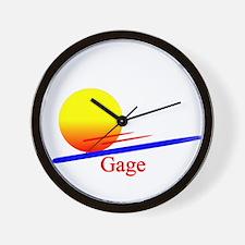 Gage Wall Clock