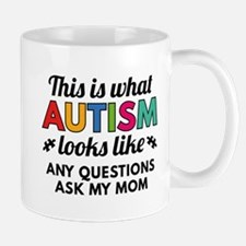 Autism Looks Like Mug