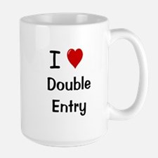 I Love Double Entry Accountant Mugs