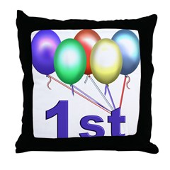 Baby's First Birthday Gifts Throw Pillow