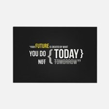 Motivational Quotes Rectangle Magnet