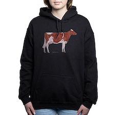 Golden Guernsey cow Hooded Sweatshirt