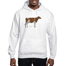 Golden Guernsey cow Hoodie
