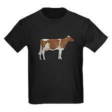 Golden Guernsey cow T