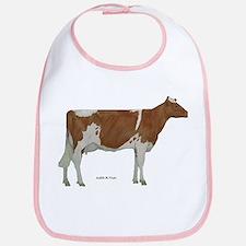 Golden Guernsey cow Bib