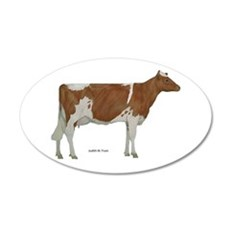 Golden Guernsey cow Wall Decal