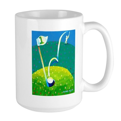 'Hole in One!' Large Mug