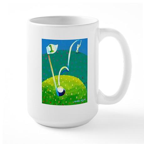 'Hole in One!' Large Mug