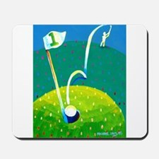 'Hole in One!' Mousepad