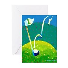 'Hole in One!' Greeting Cards (Pk of 10)