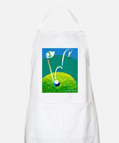 'Hole in One!' BBQ Apron