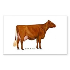 Shorthorn Cow Decal