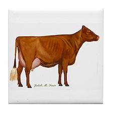Shorthorn Cow Tile Coaster